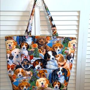 HP 🔥 Adorable Dogs All Purpose Tote Bag
